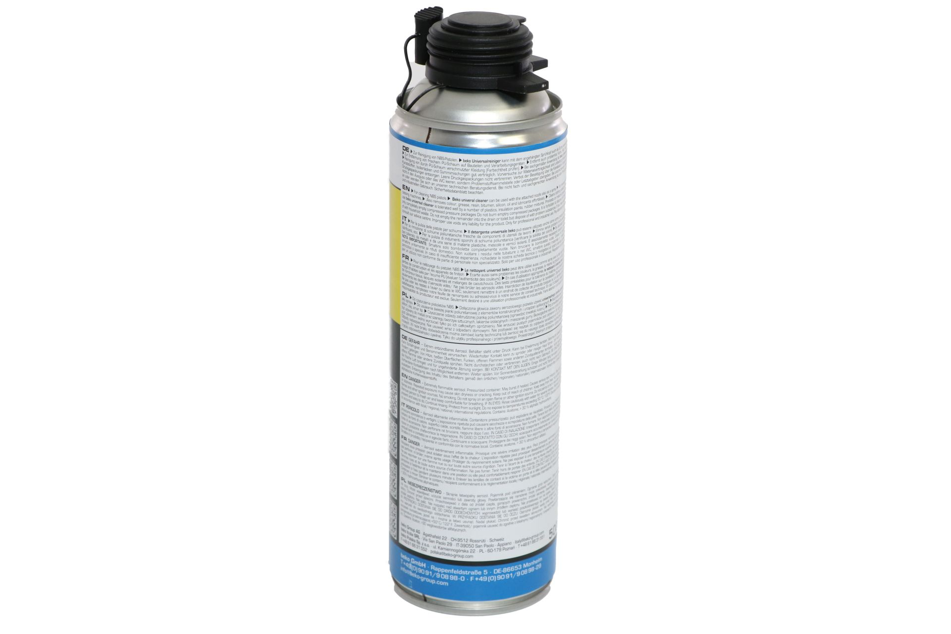 beko PU-Universal-Reiniger, zur Reinigung von NBS-Pistolen, 500 ml