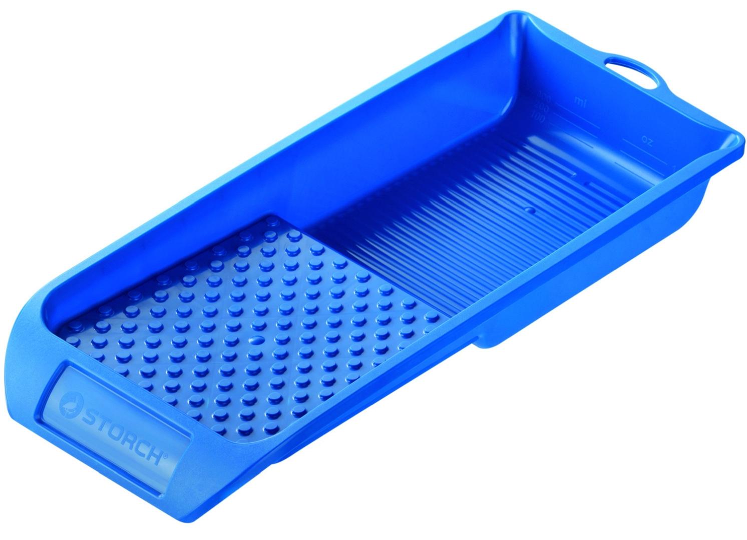 STORCH Farbwanne Kunststoff, blau, 14 x 29 cm