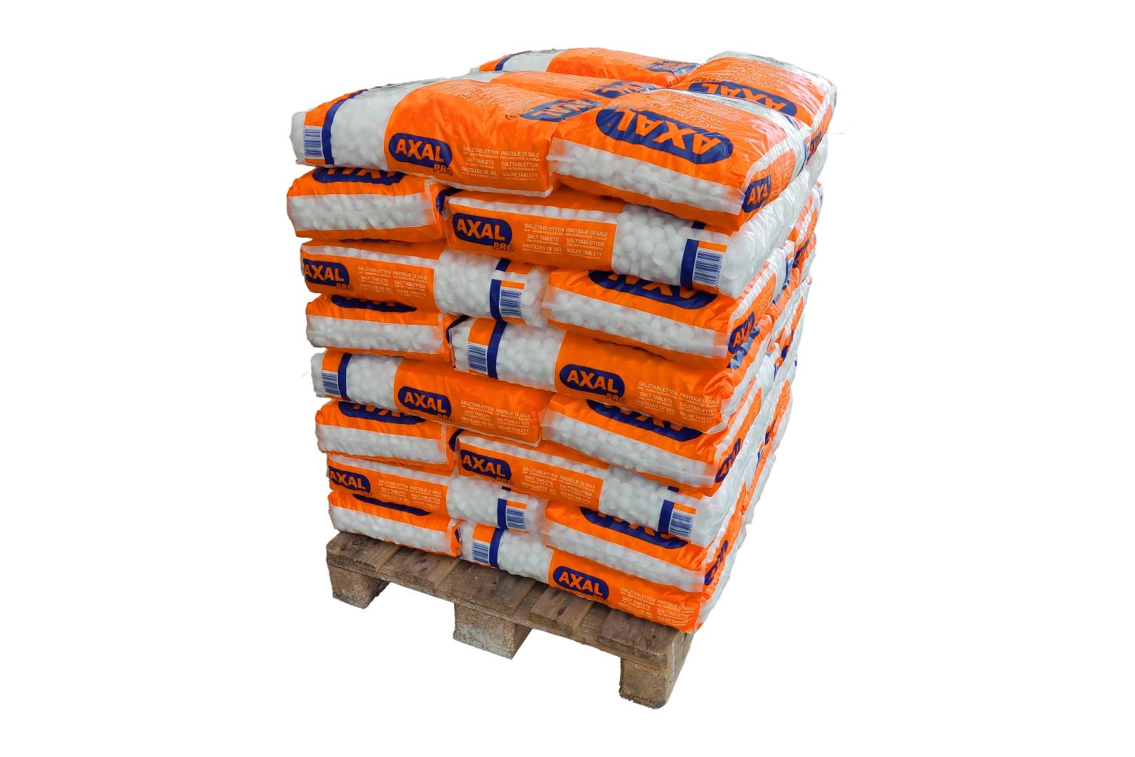 AXAL PRO Regeneriersalz, Salztabletten zur Wasseraufbereitung, 40 x 25 kg auf Palette **Versandkosten PLZ-abhängig**