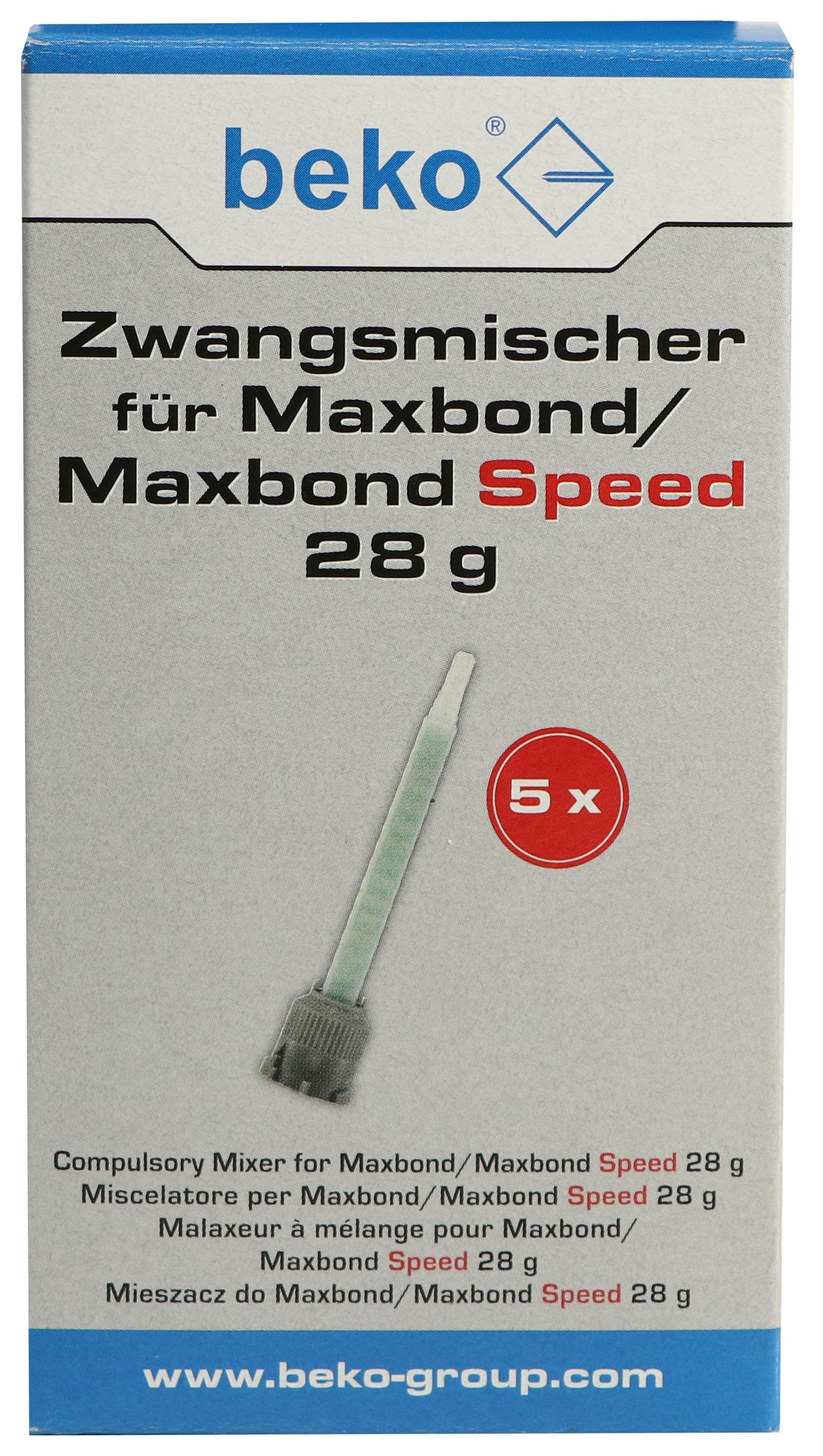 beko Zwangsmischer für Maxbond 28 g, 5-er Pack