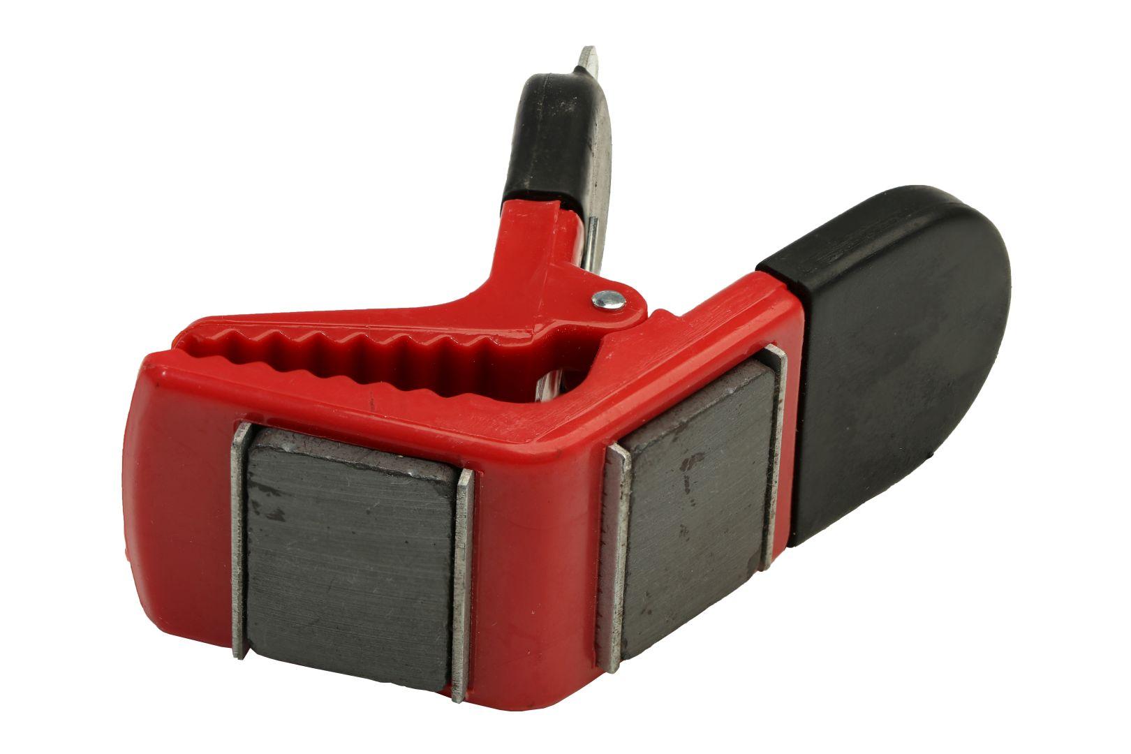 GO/ON Pinselhalter, zum Fixieren eines Pinsels an der Farbdose, magnetisch