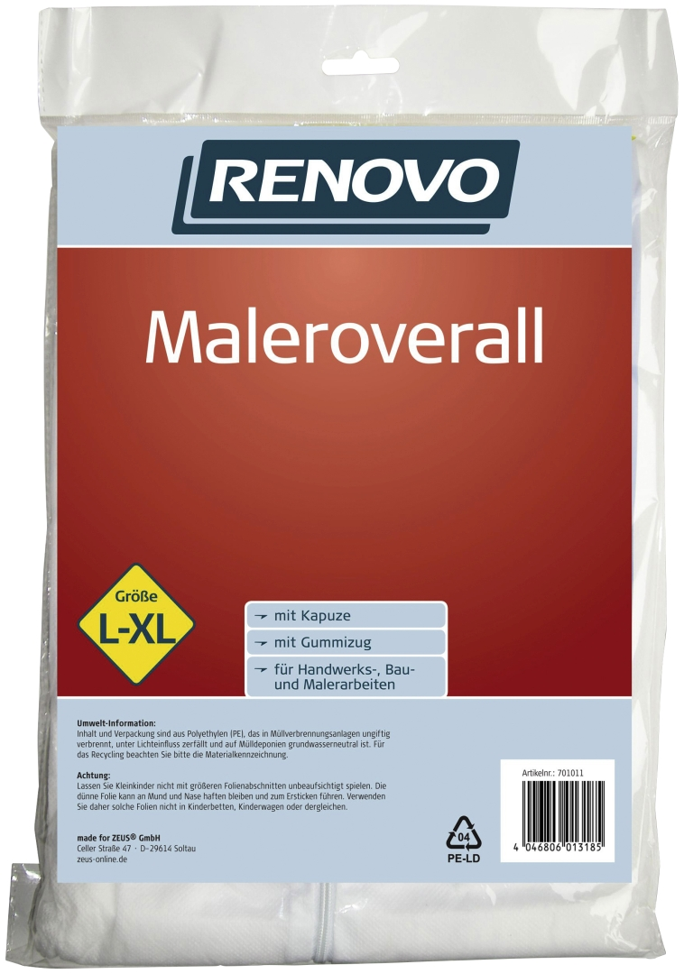 RENOVO Maleroverall, Größe L-XL