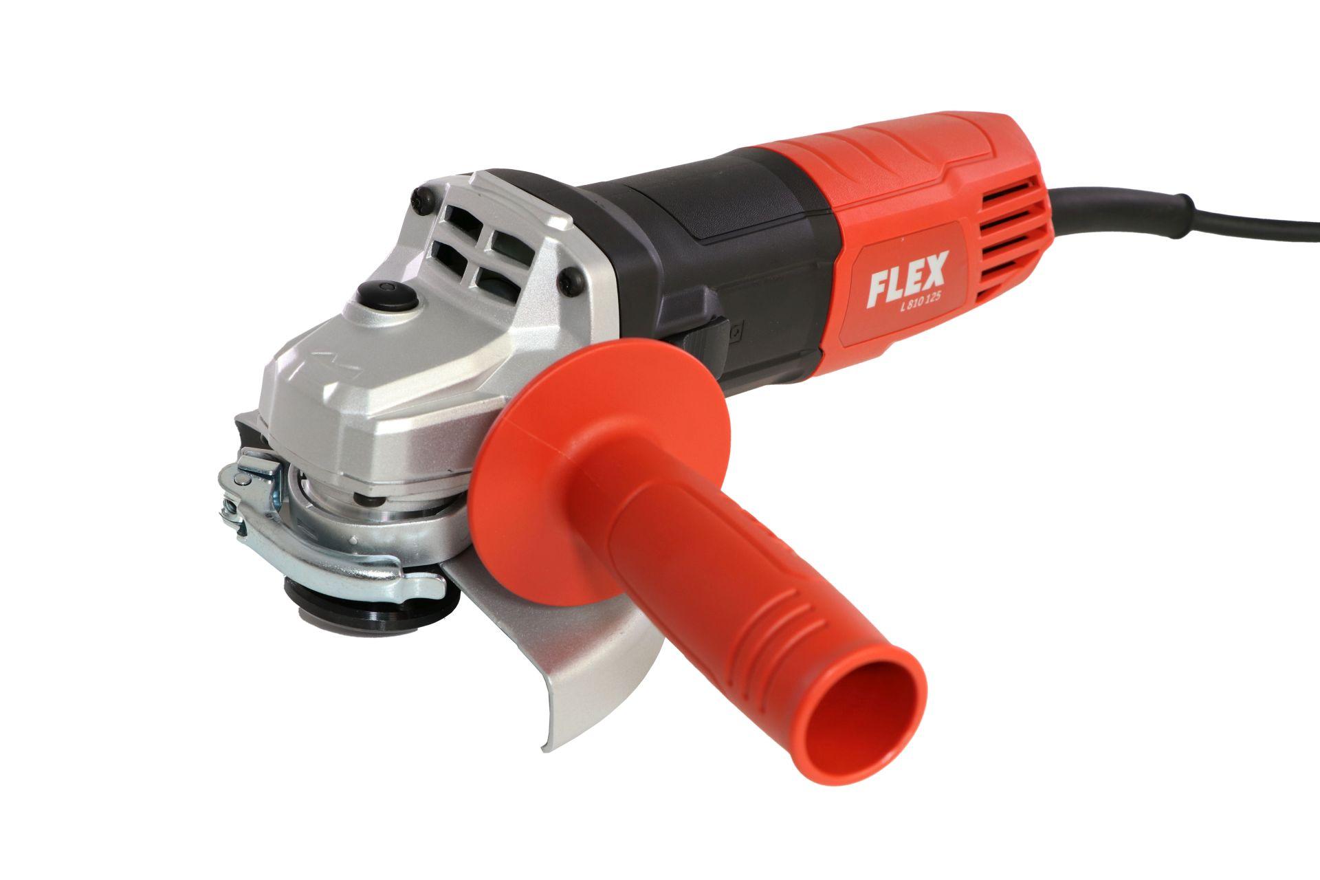 Flex Winkelschleifer L810, 800 W, Scheibendurchmesser 125 mm, Aufnahme M14