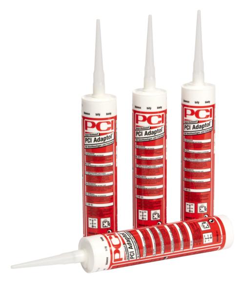 PCI Adaptol, Acryl-Dichtstoff für Anschlussfugen und Putzrisse, weiß, 310 ml