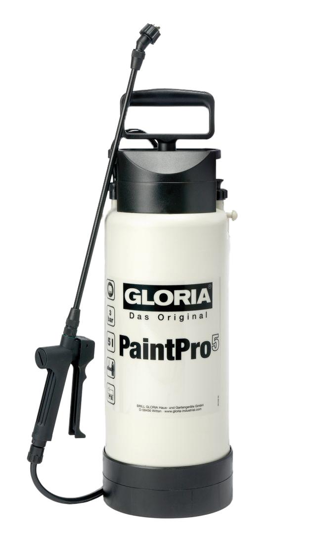 GLORIA Das Original Drucksprühgerät PaintPro 5, max. Betriebsdruck 3 bar, Füllinhalt 5 l
