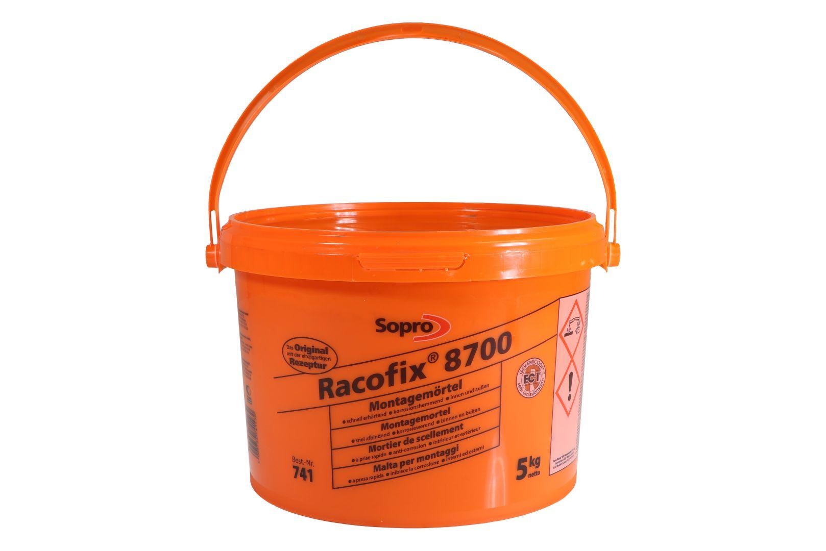 Sopro Racofix 8700, Schnellmontagemörtel 741, 5 kg