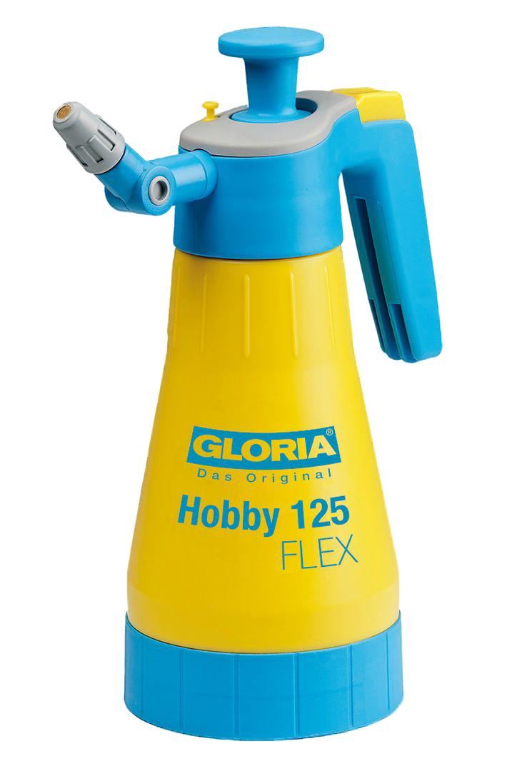GLORIA Das Original Drucksprühgerät Hobby 125 FLEX, verstellbare Düse, max. Betriebsdruck 3 bar, Füllinhalt 1,25 l