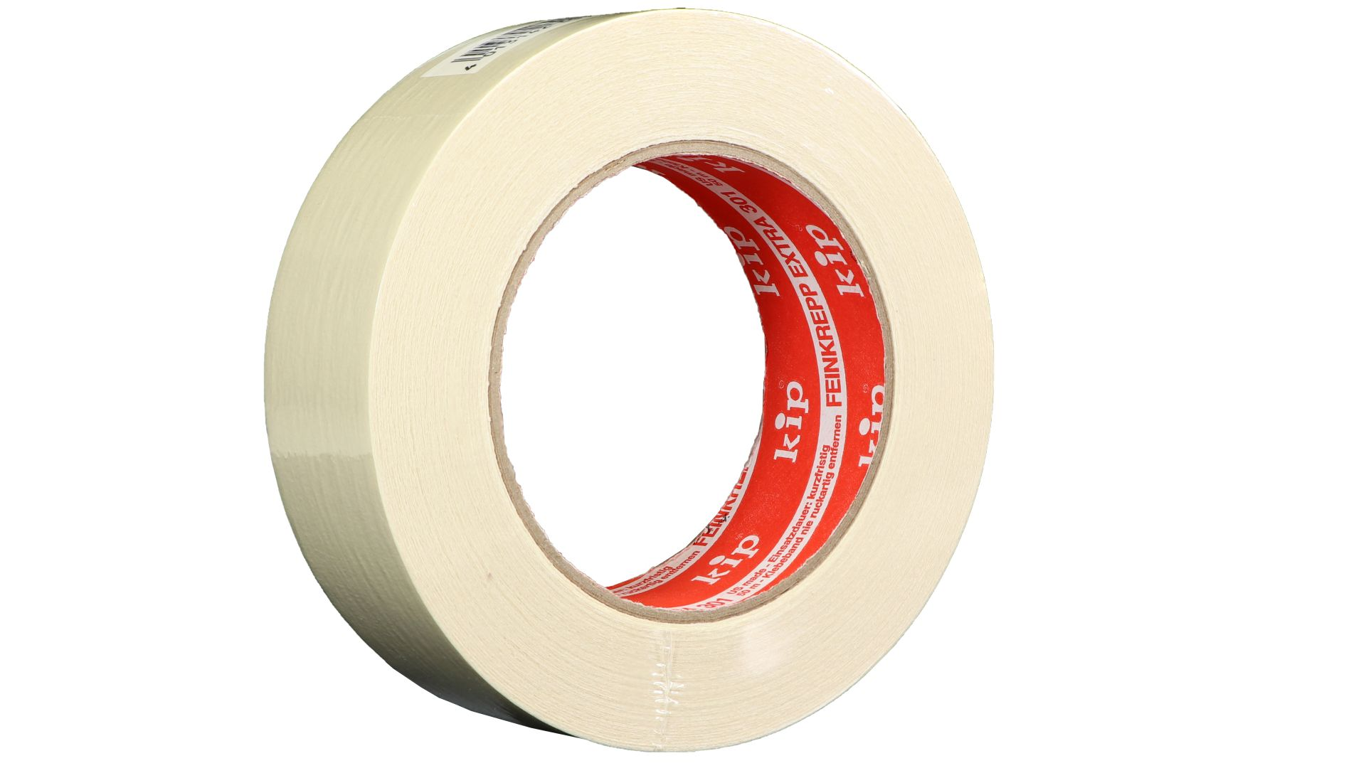 KIP 301-36 Feinkrepp extra, Kreppband, beige, 36mm x 50 m