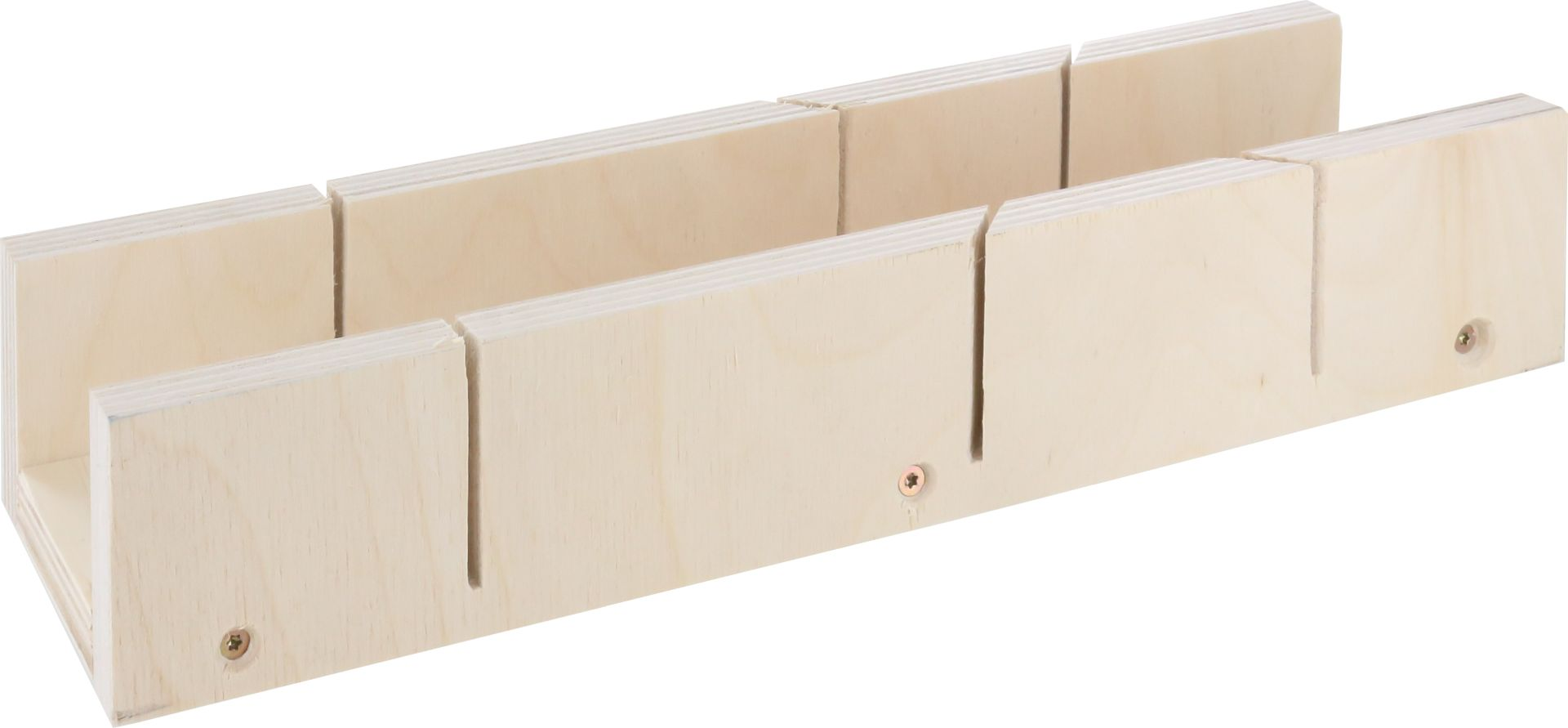 TRIUSO Schneidlade, Sperrholz, 9-schichtig, 300 x 53 x 39 mm