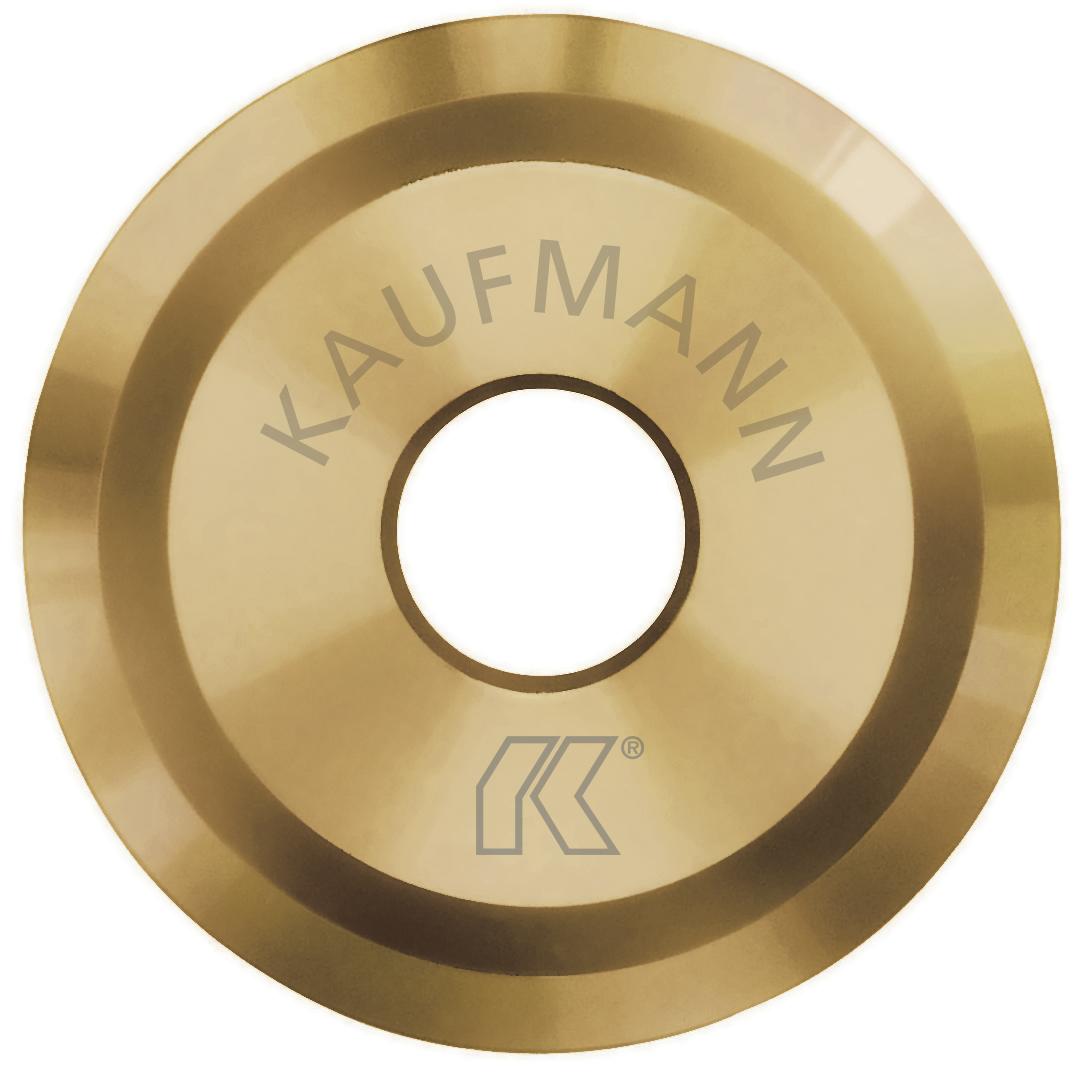 Kaufmann Hartmetall TiN-Schneidrad, Ø 22 mm