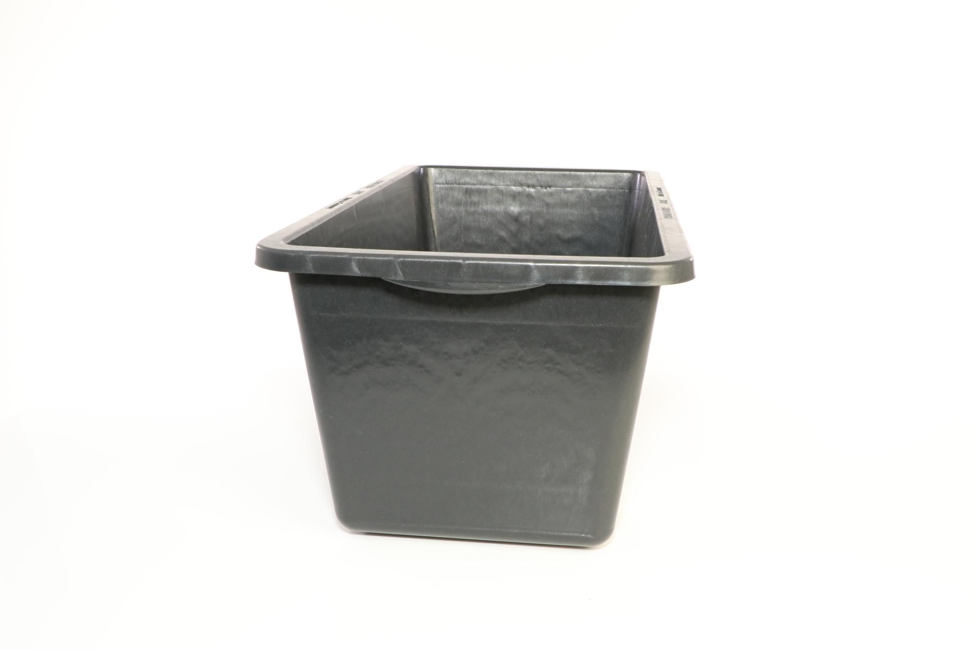 PVC Mörtelkasten, schwarz, 65 l