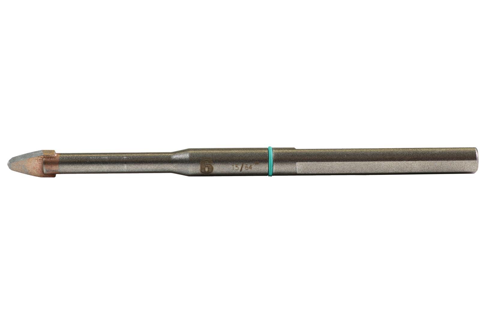 heller Feinsteinzeugbohrer Cera Expert Ø 6 mm, Gesamtlänge 120 mm