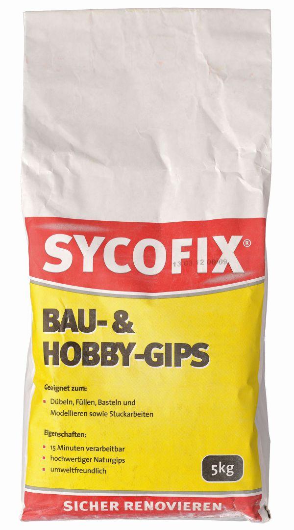 SYCOFIX Bau- und Hobby-Gips 5 kg