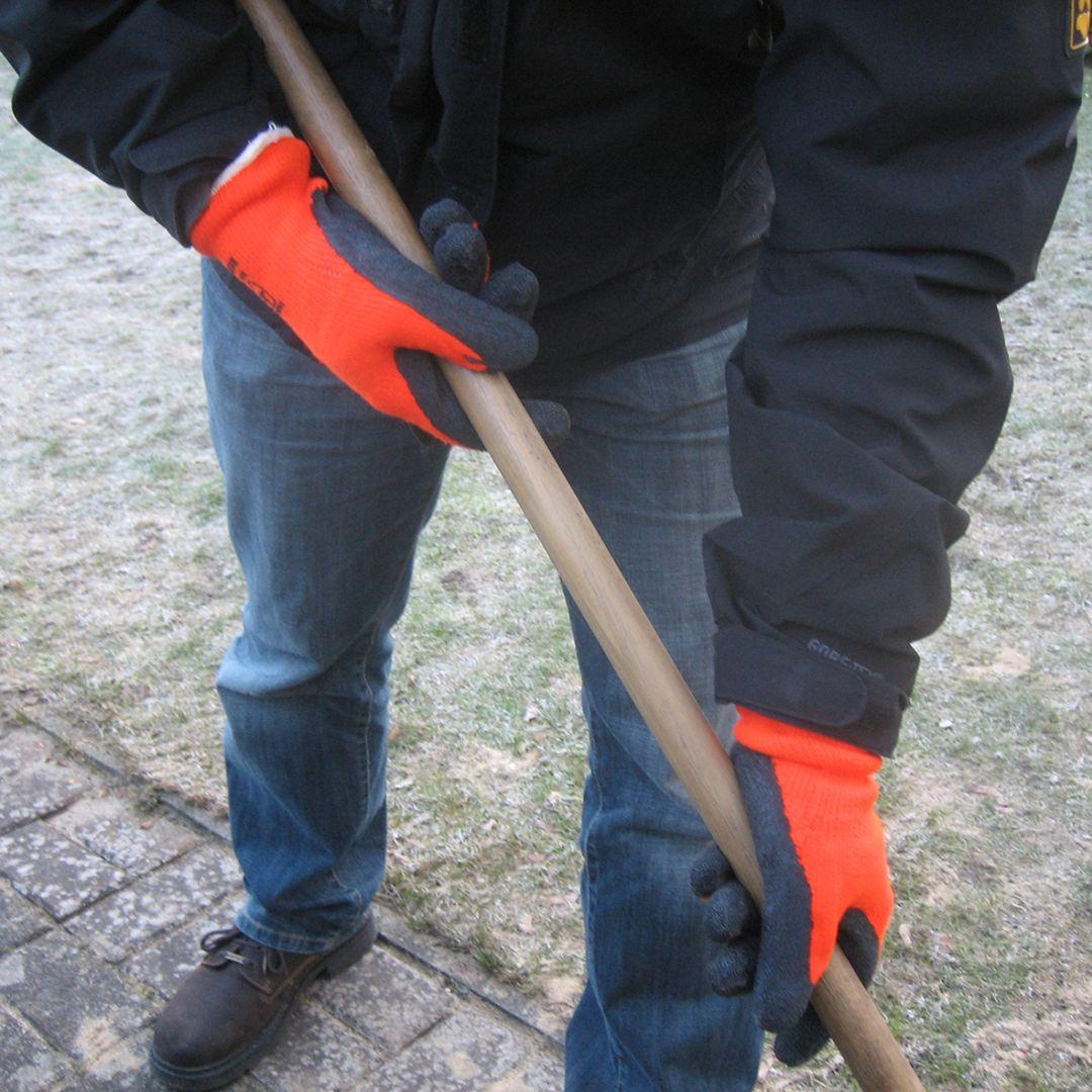 CONNEX Winterbauhandschuhe, orange, Größe 10