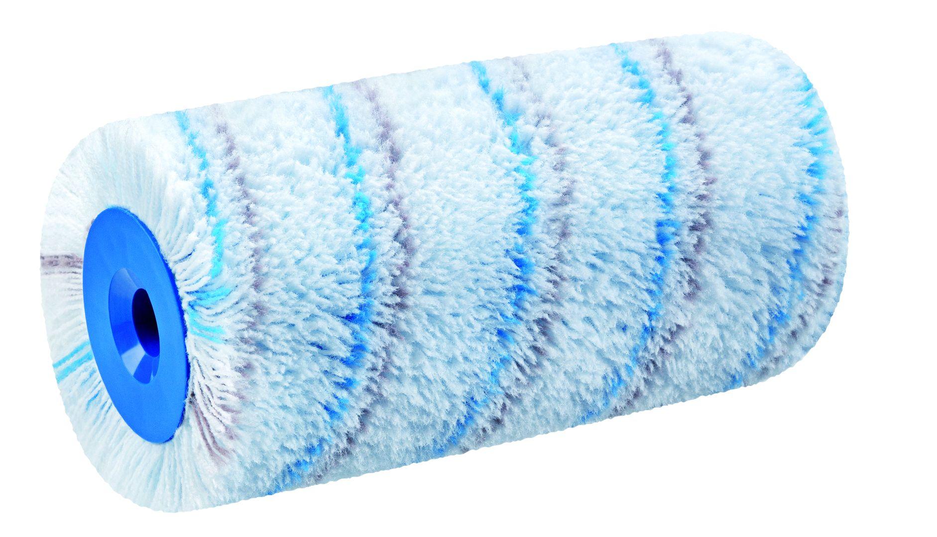 STORCH Walze, 25 cm, Polyamid, Multicolor, Blaugraufaden, SolidXL, Kern-Ø 60
