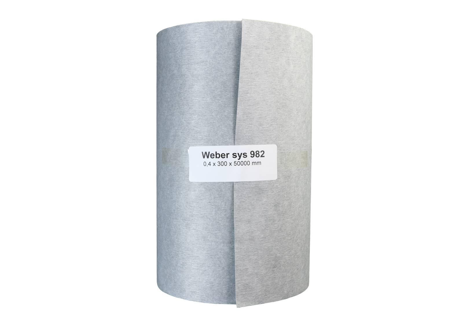 weber.sys 982 Dichtfolie, 0,3 x 50 m