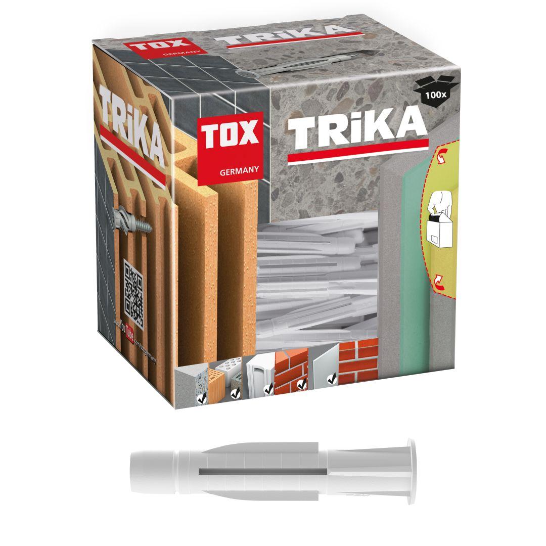 TOX Allzweckdübel Trika, 5/31 mm KT, 100 Stück